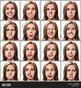 Multiple Close- Portraits Same Image & Photo   Bigstock