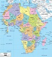 Africa Map Wallpapers - Wallpaper Cave