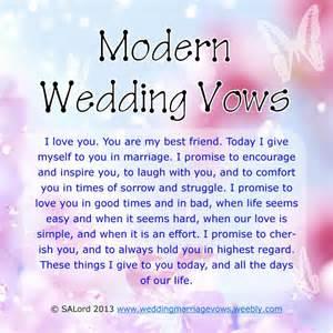 wedding marriage modern wedding marriage vows sle vow exles wedding marriage vows