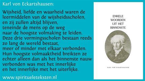 Karl Von Eckartshausen Veelzijdig Christelijk Theosoof