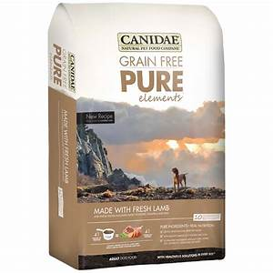 canidae grain free pure elements dog food 30 lb