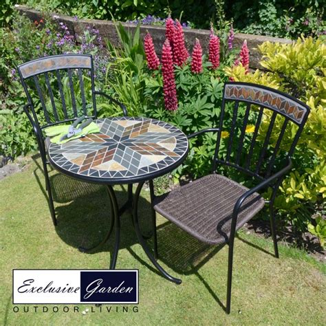 Buy Garden Table And Chairs by Buy Europa Leisure Arlington Bistro Table With 2