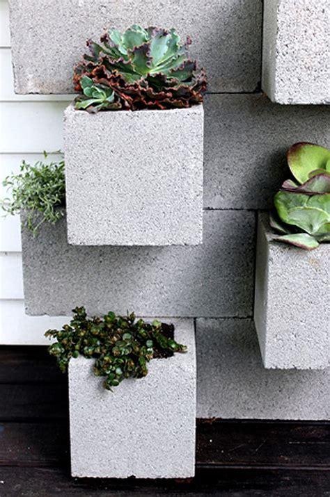 cinder block planter bar designsponge