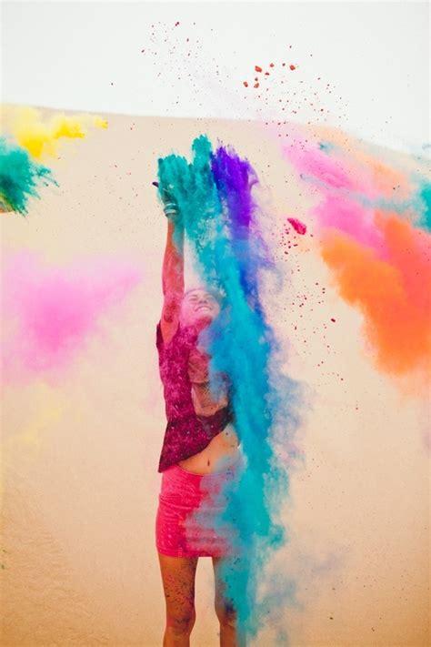 color sandchalk paint photography holi festival