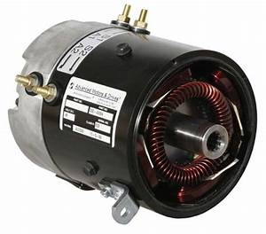 Motor Amd Brand Electric Torque  U0026 17 Mph Club Car Electric