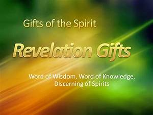 Base on The Holy Spirit and His Gifts by Kenneth E. Hagin ...