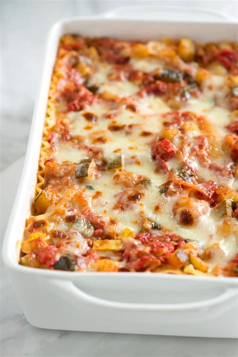 vegetarian lasagna easy vegetable lasagna recipe