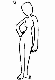 Best body outline ideas and images on bing find what youll love blank human body outline template maxwellsz