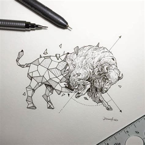 Geometric Beasts by Kerby Rosanes   Design