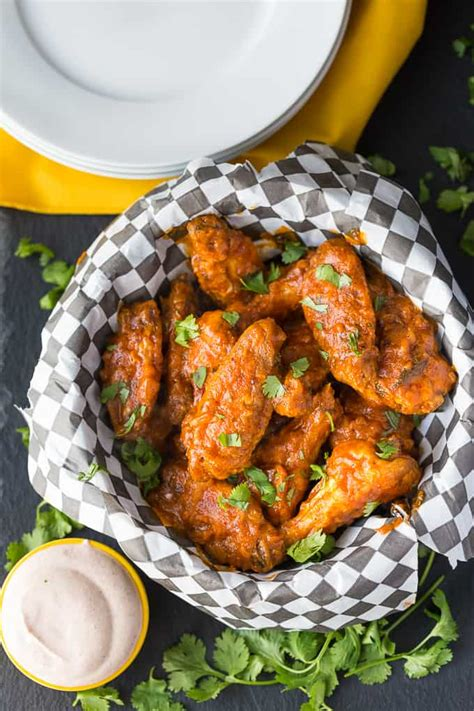 spicy butter chicken wings simply stacie