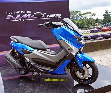 Nmax 2018 Kobayogas by Yamaha Nmax 2018 Biru Kobayogas Your Automotive