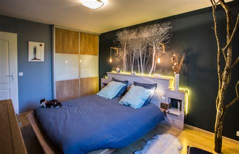 chambre foret chambre quot forêt scandinave quot scandinavian bedroom