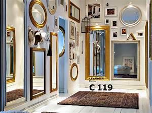 Miroir Doré Rectangulaire : cadre deco ikea ~ Teatrodelosmanantiales.com Idées de Décoration
