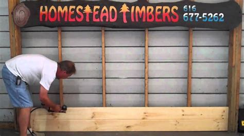 installing tongue and groove wainscoting how to install homestead timbers tongue and groove