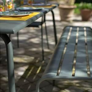 Fermob Salon De Jardin : salon de jardin fermob monceau 8 pers romarin muscade miel plantes et jardins ~ Teatrodelosmanantiales.com Idées de Décoration