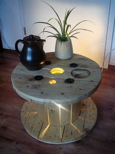 recycling ideas  pallet cable reels diy motive