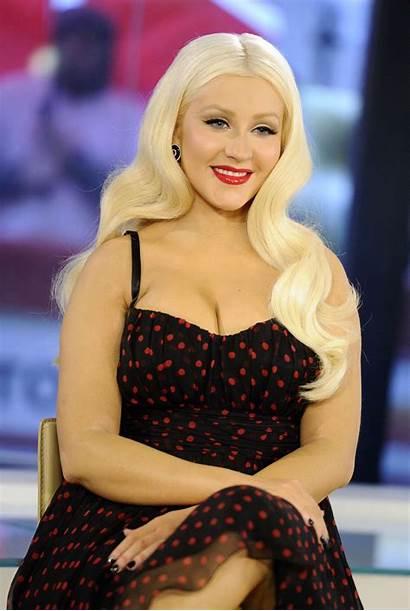 Christina Aguilera Today Cleavage Hoy Candids Gotceleb