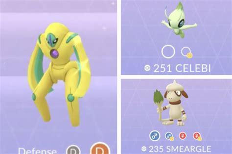 Pokemon Go News New Legendary Shiny Mythical Secret