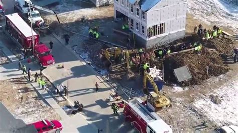 Person Trapped Under 25 Feet Of Dirt After A Trench