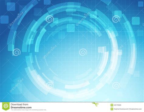gear abstract technology background template stock vector