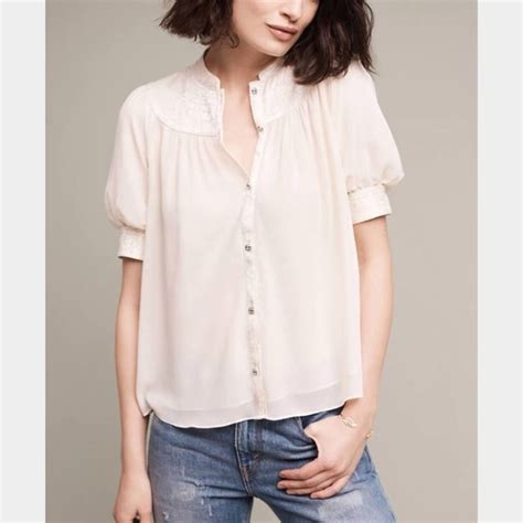 anthropologie blouses 61 anthropologie tops anthropologie colline