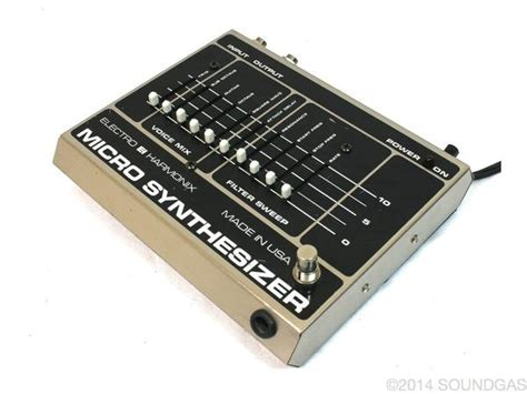 Electro Harmonix Micro Synth Sound Templates by Electro Harmonix Micro Synth Vintage Guitar Pedal