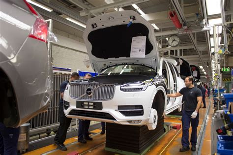 volvo chooses south carolina site   north american