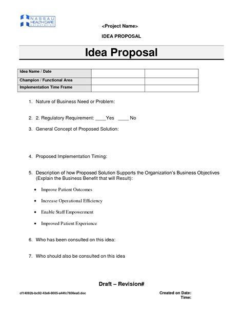 proposal template category page  efozacom