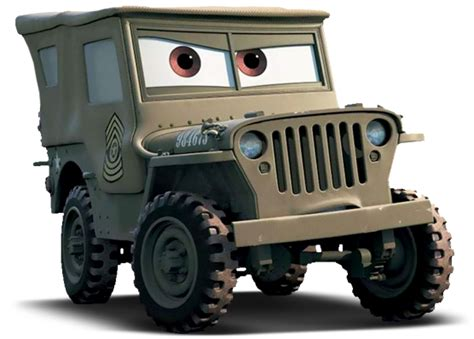 cars sarge and fillmore sarge world of cars wiki