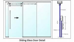 Sliding Glass Door Detail Plan n Design
