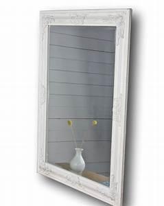 Wandspiegel Weiß Barock : spiegel wei antik 82x62 cm holz wandspiegel barock ~ Lateststills.com Haus und Dekorationen