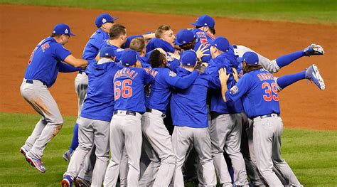 world series chicago cubs beat cleveland indians  game
