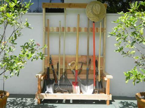 rangement outils jardin rangement outils jardin palette