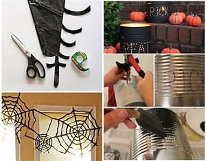 Deco Halloween A Fabriquer : deux tutos d co halloween faire soi m me le blog de ~ Melissatoandfro.com Idées de Décoration