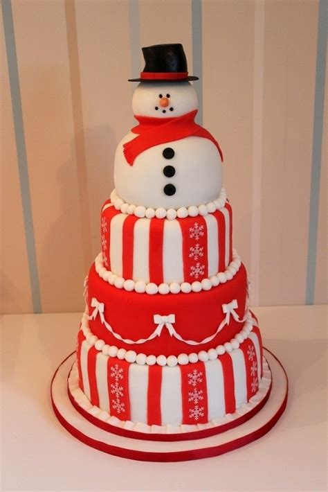 christmas cake decorating ideas  wow style