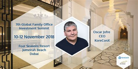 koreconx joins   global family office investment