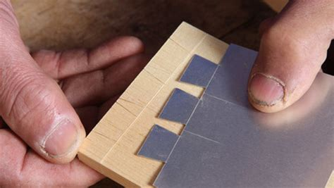 shopmade templates simplify dovetail layout finewoodworking