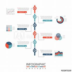 Infographic Timeline Template Can Be Used For Chart
