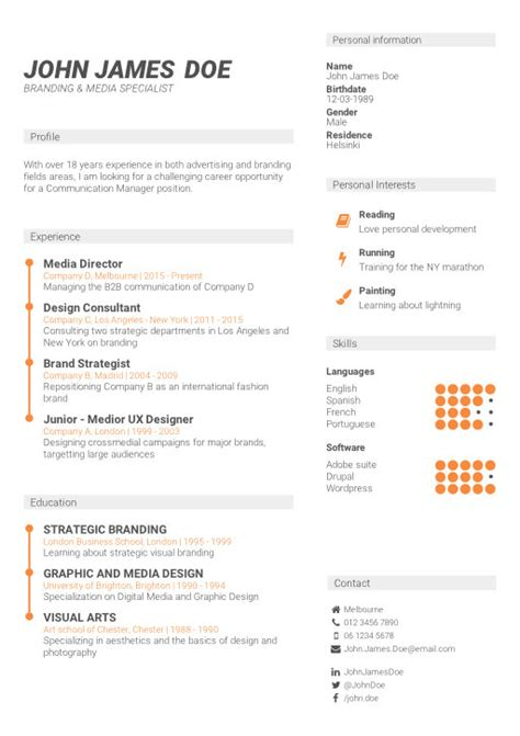 New Cv Template by Cv Builder Guide Here S How To Use Cv Template