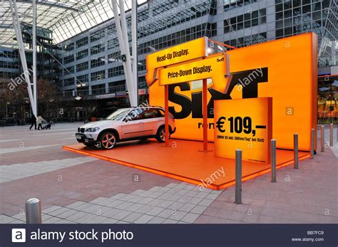 Ad For Sixt Car Rental Service, Terminal 2, Muc Ii Airport