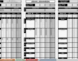 personal training program template - free personal training excel templates workout sheet