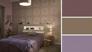 Chambre beige taupe deco chambre beige et taupe une for Chambre aubergine et beige