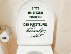 badezimmer türkis wc aufkleber bitte im sitzen pinkeln der putzteufel bedankt sich i wandtattoo de