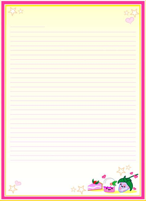 Lined writing journals