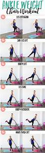 Booty Burning Ankle Weight Workout  U2022 The Live Fit Girls