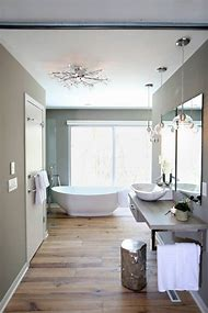 HGTV Hardwood Floor Bathroom