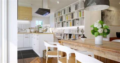 photo cuisine ouverte sur salon délimiter une cuisine ouverte sur le salon