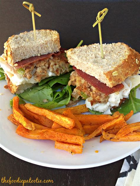 thanksgiving sandwich recipe national cold cuts day thanksgiving sandwich the foodie patootie