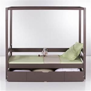 Lit Banquette Fille : decoration et mobilier chambre de fille baldaquin lit ~ Teatrodelosmanantiales.com Idées de Décoration