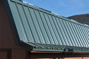 How to install a metal roof instead of shingles on your shed for Barn style metal roof